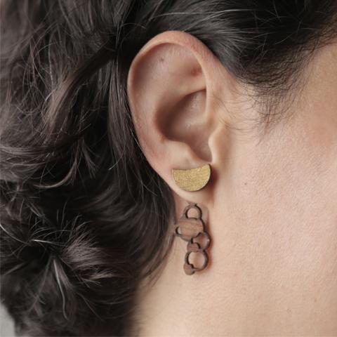 Ear Jackets fases de luna