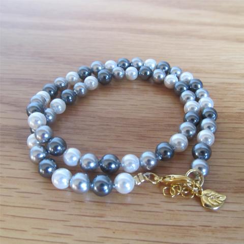 Pulsera perlas de concha